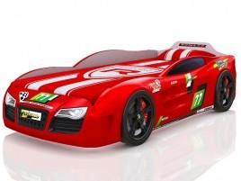 Renner 2 красная Кровать-машина