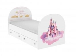 Принцесса Кроватка с ящиками