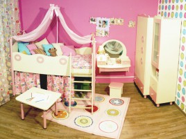 Композиция детской Принцесса №2