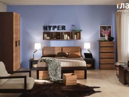 Композиция спальни HYPER №1