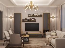 Композиция гостиной Crown №2