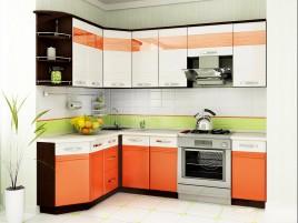Кухня Оранж №2