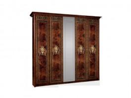 Карина 3 Шкаф 5-ти дверный с зеркалом