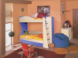 Командор-1 Кровать 2-х ярусная