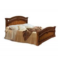 Карина 2 Кровать с ПМ 1600 мм.  (2 спинки - шелкография)
