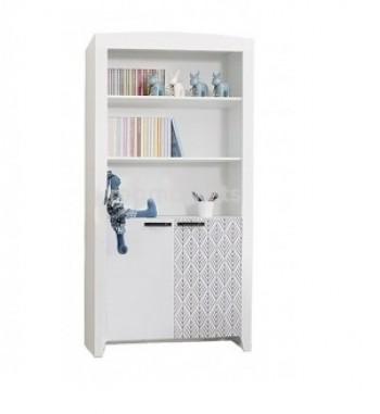 Нордик Ш2- Принт шкаф для книг