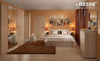 Композиция спальни  Berlin  №3