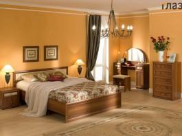 Композиция спальни Милана №3