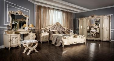 Композиция спальни Джоконда №2 крем глянец