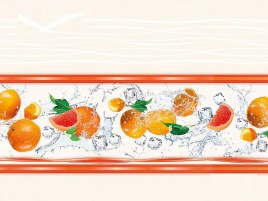 Панель стеновая высокоглянцевая СП 08 Оранж