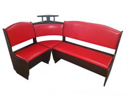 Кухонный уголок НЕО красный 1500*1500