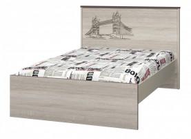 Хэппи ИД 01.254 Кровать 1200 с настилом