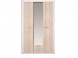 Мальта №06 Шкаф для одежды 3-х дв с зеркалом