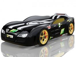 Renner 2 чёрная Кровать-машина