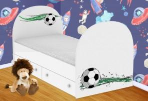 Футбольный мяч Кроватка с ящиками