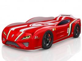 SportLine красная Кровать-машина