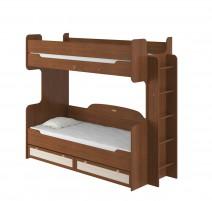 Робинзон ИД 01.164а Кровать 2-х ярусная 800 с настилом