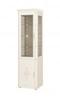 Венеция 32.08 Шкаф-витрина с колоннами (лев/прав)