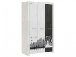 Фест мод № 11 шкаф 3-дверный