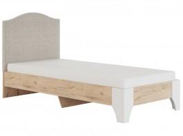 Флоренция №10  Кровать с мягкой спинкой 900 мм.