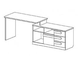Пиксель Стол тумба справа
