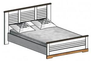 Кантри Каркас кровати 1400 мм.