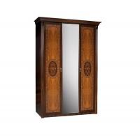 Карина 2 Шкаф 3-х дверный с зеркалом