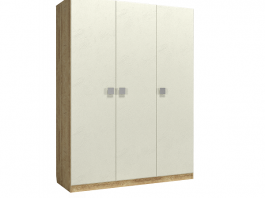 Анастасия АН-3К Шкаф 3-х дверный глухой