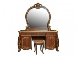 Амелия Туалетный стол, зеркало и пуф