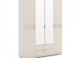 Ирис №06 Шкаф для одежды 4-х дв с ящиками