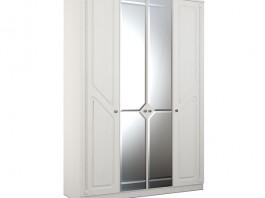 Азалия №24 Шкаф 4-створчатый с зеркалом