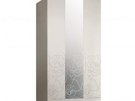 Роза Р1Ш1/3 Шкаф 3-х дверный с зеркалом