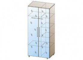 Дольче Нотте ШК-107 Шкаф для одежды и белья