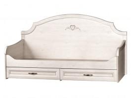 Прованс № 415 Кровать с ящиками на 900
