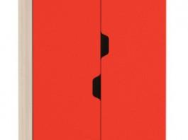 Автобус Шкаф для одежды и белья 4 Красный