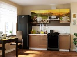 Кухня Кофе 2,1 м.