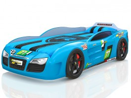 Renner 2 голубая Кровать-машина