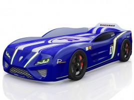 SportLine синяя Кровать-машина