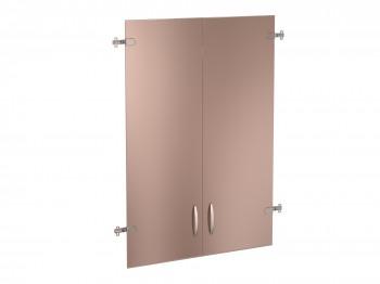 Альфа 63.38 Двери стеклянные тонированные 3 секции