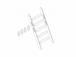 Сонечка Лестница наклонная