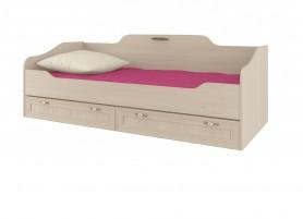 Соната ИД 01.95а Кровать одинарная 800 с настилом