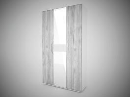 Сорренто Шкаф 3-х дверный с зеркалом