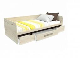 Мале Кровать 1-но спальная с ящиками