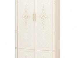 Венеция 32.22 Шкаф для одежды с колоннами