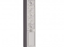 Мelania №16 Шкаф-пенал для книг