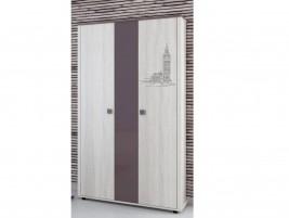 Хэппи ИД 01.359 Шкаф для одежды 3-х дверный