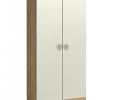 Анастасия АН-4К Шкаф 2-х дверный глухой с полками