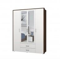 Моника-1 ИД 01.127 Шкаф для платья и белья