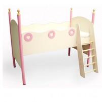 Принцесса Кровать с лестницей