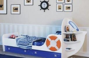 Парус Кровать одноярусная «Яхта-1»